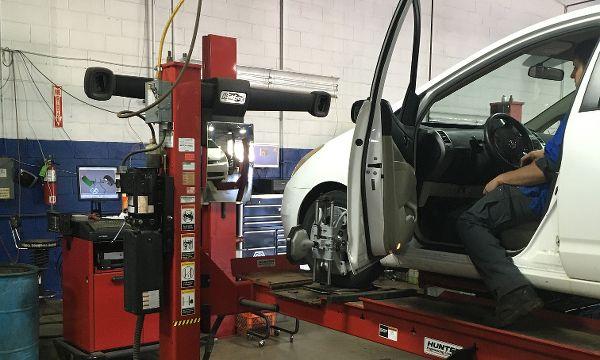 Wheel alignment in Lansing MI at Chuck's Garage Lansing Auto Repair